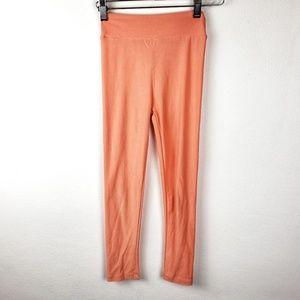 LuLaRoe | Orange Girls Full Length Youth Leggings